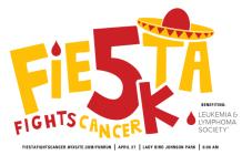 Fiesta Fights Cancer 5K & Mile Fun Run registration logo