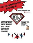 Fight For Families Fun Run registration logo