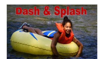 Fireball Dash and Splash registration logo