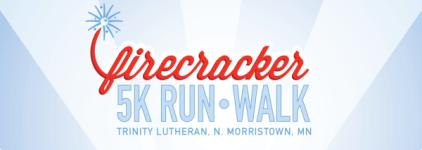 Firecracker 5k Run/Walk registration logo