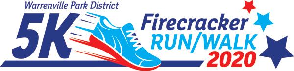 Firecracker 5K - Warrenville registration logo