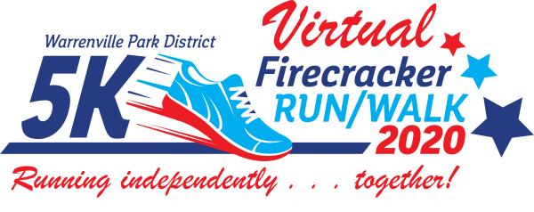 Virtual Firecracker 5K registration logo