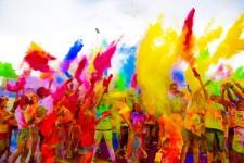 Firecracker Color Fun Run/Walk  registration logo
