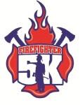 Firefighter 5k run/walk registration logo