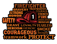 Firefighters 1 Mile, 5K, 10K, 13.1, 26.2 registration logo
