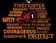 Firefighters 1 Mile, 5K, 10K, 13.1, 26.2 registration logo
