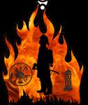 Firefighters 5K & 10K registration logo