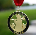 Firefighters 5K registration logo