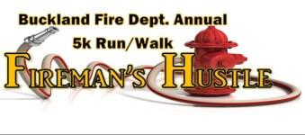 Fireman's Hustle 5K Run/Walk registration logo
