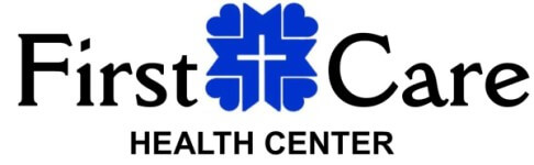 First Care Health Center's Heart and Sole 5k registration logo