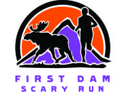 First Dam Scary Run registration logo