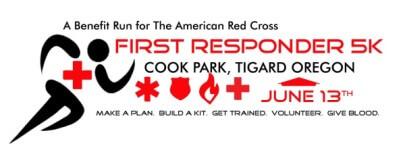 First Responder 5k registration logo