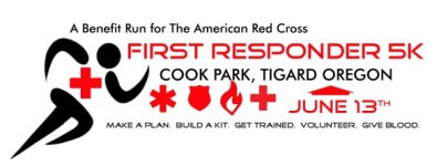 First Responder 5k registration logo