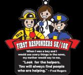 First Responders 5K & 10K registration logo