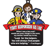 First Responders 5K & 10K registration logo