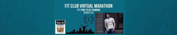Fit Club Virtual Race registration logo
