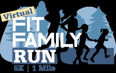 Fit Family Run registration logo