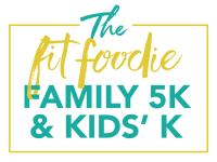 fit foodie 5k fun run registration logo