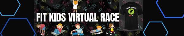 Fit Kids Virtual Race registration logo