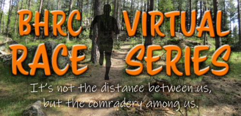 Fixed Distance Not Fixed Location Virtual Road Series registration logo