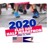 Flag Day Half Marathon registration logo