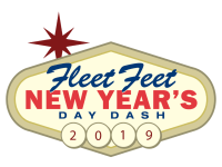 Fleet Feet New Year's Day Dash registration logo