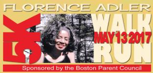 Florence Aldler Walk and Run registration logo