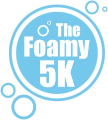 Foamy 5k registration logo