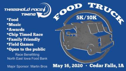 Food Truck 5k/10k registration logo