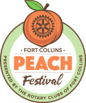 Fort Collins Peach Festival 5k registration logo