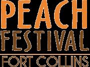 Fort Collins Peach Festival 5k registration logo