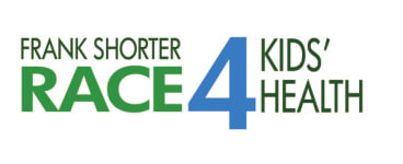 Frank Shorter RACE4Kids' Health 5K and Expo, Where Science, Engineering and Health Collide4Kids registration logo