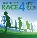 Frank Shorter RACE4KIds' Health 5K registration logo