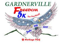 Freedom 5K Fun Walk/Run registration logo