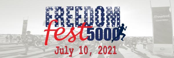 Freedom Fest 5000 registration logo