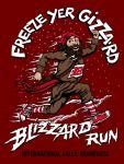 Freeze Yer Gizzard Blizzard Run registration logo