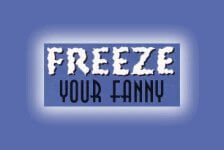 Freeze Your Fanny - Longview registration logo