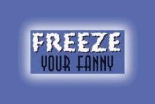 Freeze Your Fanny - Longview registration logo