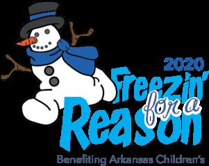 Freezin for a Reason registration logo