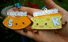 Friends Forever 5K - Who is the MAC to your CHEESE registration logo