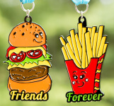 Friends Forever 5K - You Are the Burger to My Fries - Clearance from 2018 registration logo