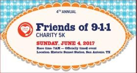Friends of 9-1-1 5K registration logo