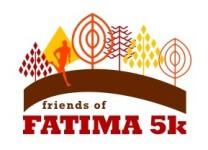 Friends of Fatima 5k registration logo
