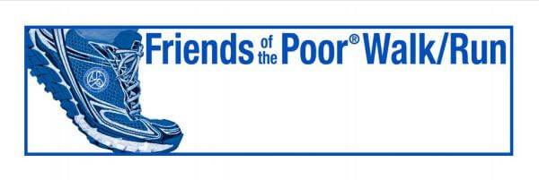 Friends of the Poor Walk and Run registration logo