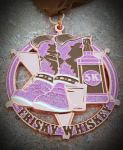 Frisky Whiskey 5K registration logo