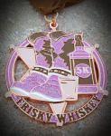 Frisky Whiskey 5K registration logo