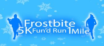 Frostbite 5k & 1mile Fun'd Run registration logo