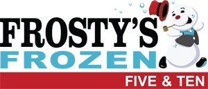 Frosty's Frozen Five and Ten registration logo
