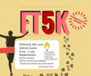 FT5K-FGCU Dance Marathon registration logo