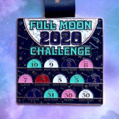 Full Moon 13 Mile Challenge registration logo